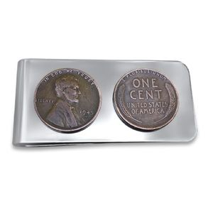 Other - Authentic Wheat Penny Money Clip. Penny Money Clip